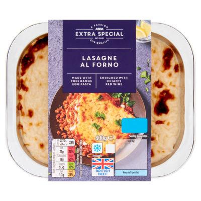 ASDA Extra Special British Beef Lasagne