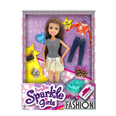 Sparkle Girlz Deluxe Fashion Doll (3+ Years)