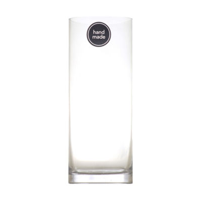 George Home Glass Cylinder Vase