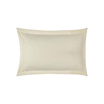 George Home Oxford Pillowcases Cream Pair