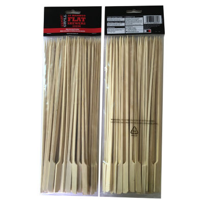 Expert Grill Bamboo Flat Skewers