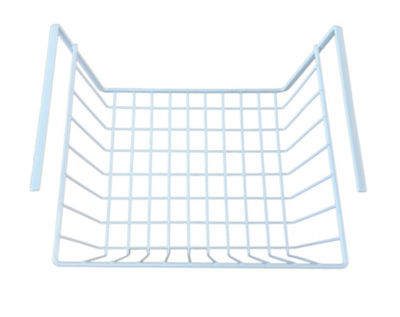 George Home White Shelf Basket