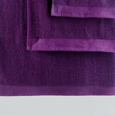 George Home Plum Cotton Hand Towel