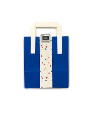 George Home Blue Stripe Treat Bags