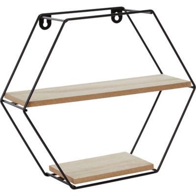 George Home Hexagon Wire Shelf