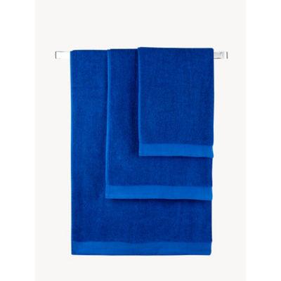 George Home Cobalt Blue Cotton Hand Towel
