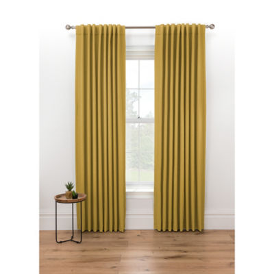 George Home Ochre Blackout Curtains