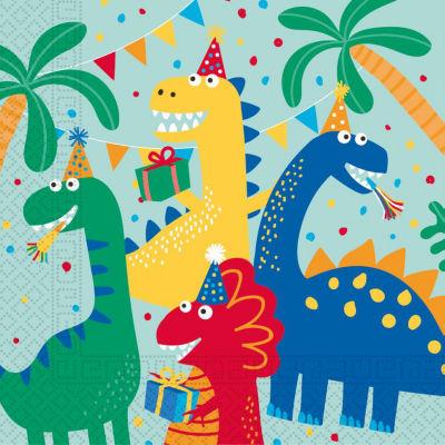 George Home Dinosaur Paper Napkins