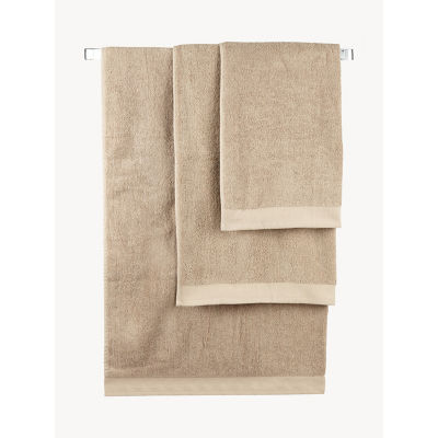 George Home Natural Cotton Hand Towel