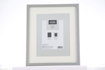 George Home Grey Boxed Frame 8 x 6Inch