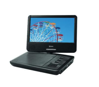 ONN Portable DVD Player - Black 9in