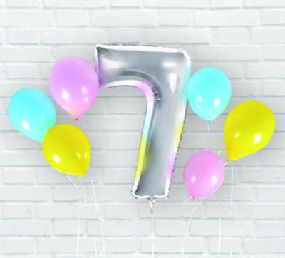 George Home Milestone Balloon Pack 7
