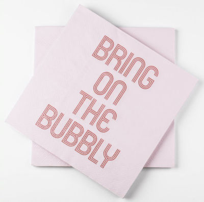 George Home Bubbly Napkins