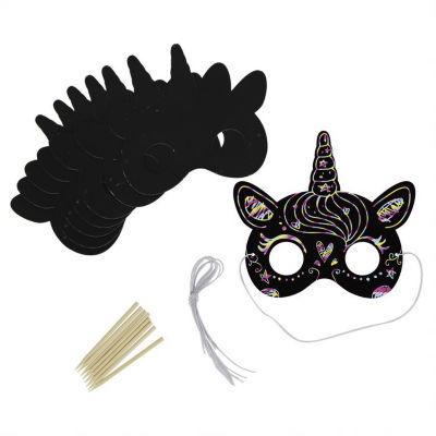 George Home Scratch Art Mask