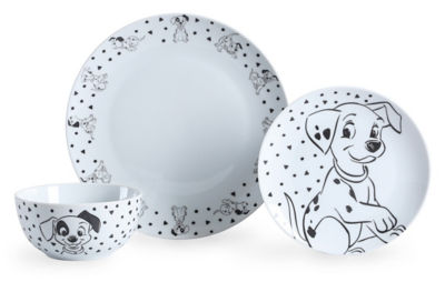 George Home Disney 101 Dalmatians Dinner Set 12 Piece