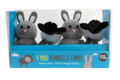 George Home Easter Lambs (4PK)