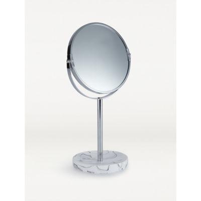 George Home Marble Base Chrome Mirror