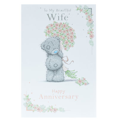 Me To You Wife Anniversary Card