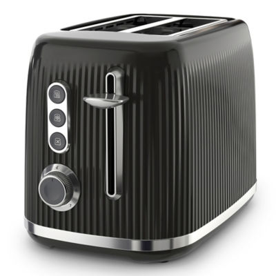 Breville Bold Black 2-Slice Toaster Black & Silver Chrome VTR001