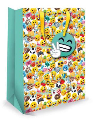 Joy Pixel Large Gift Bag