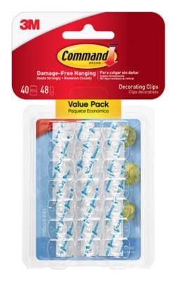 Command Décor Clips Value Pack