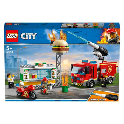 LEGO City Burger Bar Fire Rescue (5+ Years)