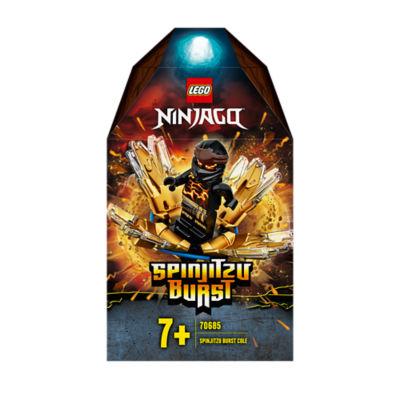 LEGO Ninjago Spinjitzu Burst Cole Spinner Toy 70685 (7+ Years)