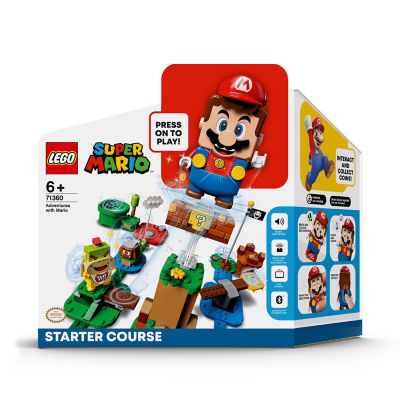 LEGO Super Mario Starter Course Toy Game 71360 (6+ Years)