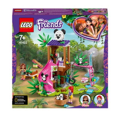 LEGO Friends Panda Jungle Tree House Play Set 41422 (7+ Years)