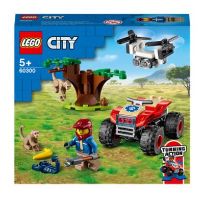 LEGO City Wildlife Rescue ATV Car Toy 60300