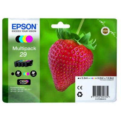 Epson T2986 Black & Colour Ink Cartridges