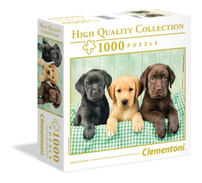 Clementoni Puppies High Quality Collection 1000-piece Puzzle