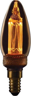 TCP Vintage Candle BC Amber Lightbulb