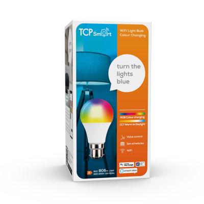 TCP Smart WiFi LED Classic Lightbulb BC