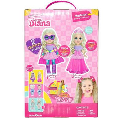 Love Diana 33cm Doll Mashup Princess