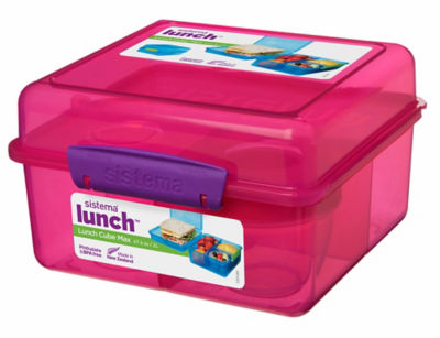 Sistema Cube Lunch Max Box (Colours Vary)