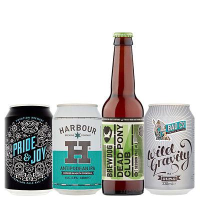 ASDA > Drinks > British Craft Beer 4 Pack Bundle